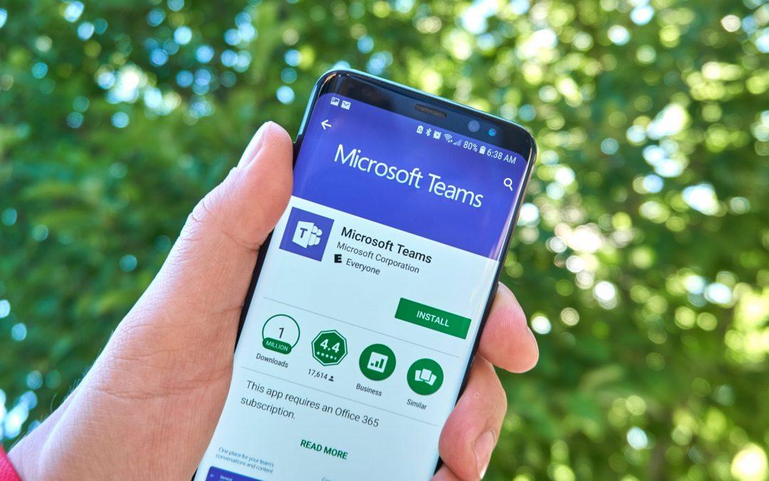 Arbeta effektivt på distans med Microsoft Teams