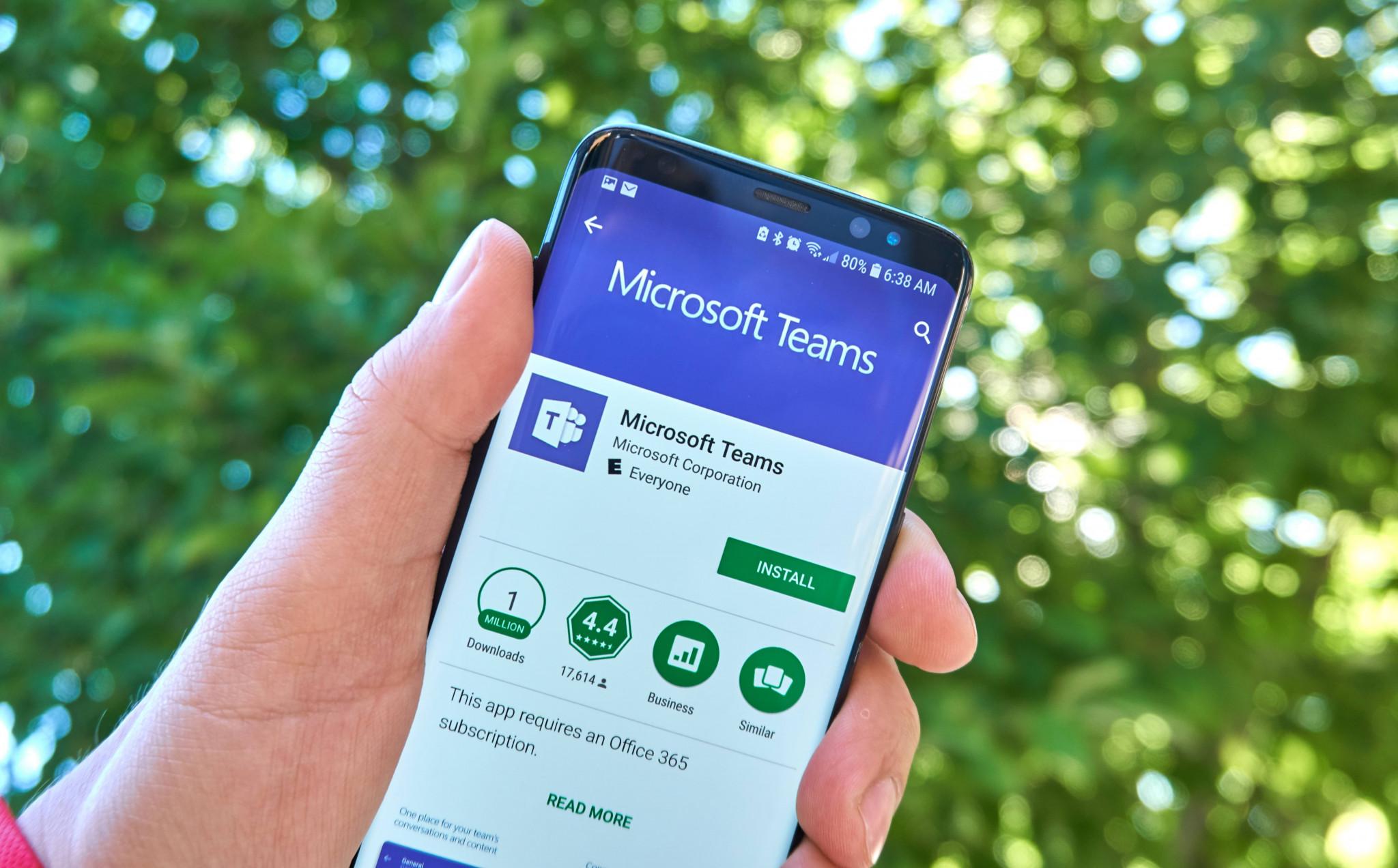 Arbeta från mobilen med Microsoft Teams
